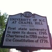 Foto diambil di University of North Carolina at Chapel Hill oleh Derek B. pada 4/15/2012
