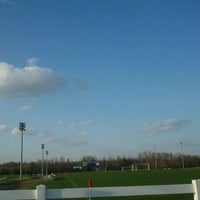 Photo taken at Mike Rose Soccer Complex by Ben M. on 3/13/2012