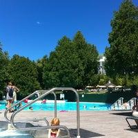 Photo taken at Esther Williams Swimming Pool by Tim M. on 8/6/2012