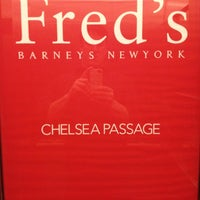 Photo taken at Fred's at Barneys New York by Steve S. on 5/15/2012