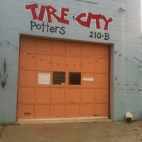 Photo taken at Tire City Potters by Garden City J. on 8/29/2012
