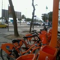 Photo taken at BikeRio - Estação 05 Princesa Isabel by Day F. on 7/30/2012