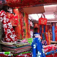Photo taken at Yongle Fabric Market by Yoko S. on 7/10/2012