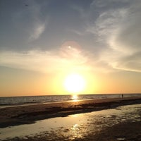 Photo taken at Madeira Beach by Lindsay C. on 8/5/2012