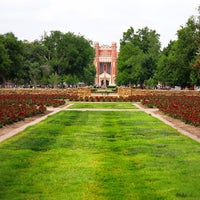 Photo taken at South Oval by University of Oklahoma on 5/1/2012