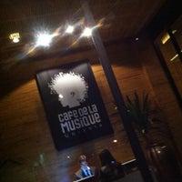 Photo taken at Cafe de La Musique by Renato Mex N. on 7/11/2012