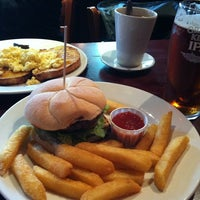 Photo taken at Liberty Bounds (Wetherspoon) by celina on 6/28/2012