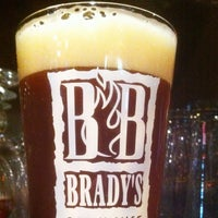Photo taken at Brady's Brewhouse by Chris P. on 4/23/2012