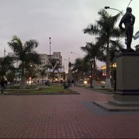 Photo taken at Plaza Jorge Chávez by Hector A. on 7/19/2012