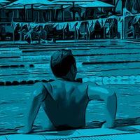 Photo taken at Gordon Swimming Pool by Yehuda udi A. on 8/7/2012