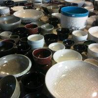 Photo taken at Gaya Ceramics Arts Centre by Ollie L. on 2/8/2012
