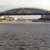 Photo taken at Moskva River by Eugene N. on 6/19/2012
