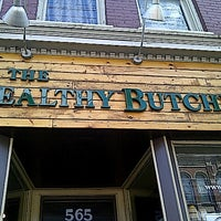 Photo taken at The Healthy Butcher by Elizabeth H. on 8/28/2012