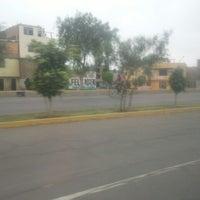 Photo taken at Av Morales Duarez by Gabriel Alejandro A. on 8/27/2012