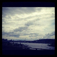 Photo taken at Ship Canal Bridge by Melody L. on 5/28/2012