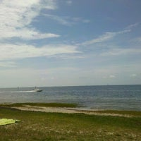 Photo taken at Shell Point Beach by Jim C. on 6/22/2012