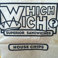 9/1/2012에 Evon B.님이 Which Wich? Superior Sandwiches에서 찍은 사진