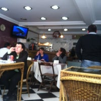 Photo taken at Bistrô Café Paris by Marcel T. on 7/19/2012