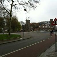 Photo taken at Wilhelminabrug over de Dommel by Caspar V. on 4/4/2012
