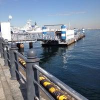 Photo taken at ピア赤レンガ観光船ターミナル by JYO E. on 2/20/2012
