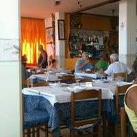 Photo taken at Trattoria Maria la Priora by Jan D. on 8/9/2012
