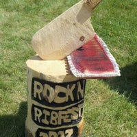 Photo taken at Rotary Rock 'N Ribfest by M@ S. on 6/17/2012