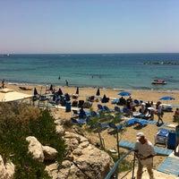 Photo taken at Municipal Beach by Guntars P. on 6/9/2012