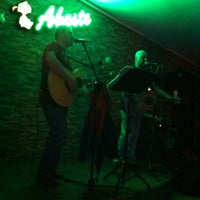 Photo taken at Aheste Cafe & Bar by Giray A. on 2/11/2012