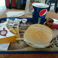 Photo taken at Burger King by Bruno D. on 2/11/2012