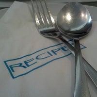 Photo taken at Recipes by Café Metro by Chris M. on 6/24/2012