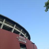 Photo taken at Mazda Zoom-Zoom Stadium Hiroshima by まこと on 5/11/2012