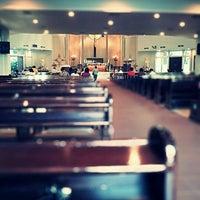 Photo taken at Gereja Katolik Santo Yakobus by aBenk X. on 5/8/2012