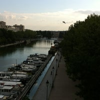 Photo taken at St Christopher's Inn Paris Canal by Andy D. on 6/1/2012