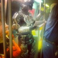 Photo taken at WMATA Red Line Metro by Ben N. on 7/3/2012