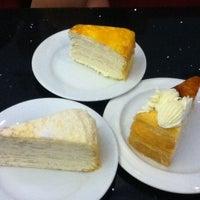 Photo taken at Nadeje Café by Rachel W. on 4/18/2012