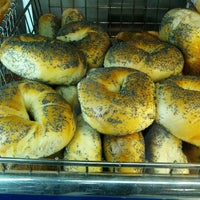 Photo taken at JP's Bagel Express / Sunrise Bagels Cafe by Andrew H. on 7/9/2012
