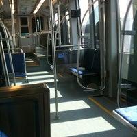 Photo taken at LYNX I-485/South Blvd Station by Kevin D. on 7/5/2012