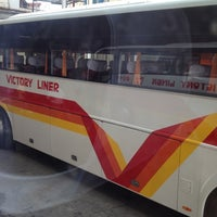 Photo taken at Victory Liner (Cubao Terminal) by Jennifer S. on 4/30/2012