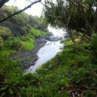 Photo taken at 7 Sacred Pools @ Haleakala State Park by Happy H. on 7/28/2012
