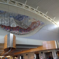 Photo taken at Boise Airport (BOI) by David L. on 8/24/2012