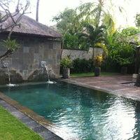Photo taken at Belmond Jimbaran Puri by Olivier B. on 6/11/2012