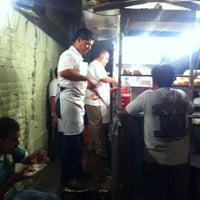Photo taken at Tacos el Mantegaza by Krlitos F. on 4/14/2012