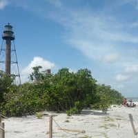 Photo taken at Sanibel Island Lighthouse by Christopher R. on 8/28/2012