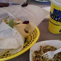 Photo taken at Falafel King by Ben P. on 3/17/2012