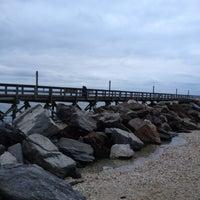 Photo taken at Cedar Beach by Su Jung H. on 3/31/2012