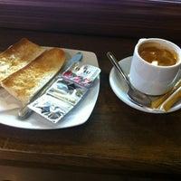 Photo taken at Crysian Café by Alejandro on 8/31/2012
