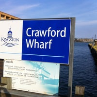 Photo taken at Crawford Wharf by Jason M. on 3/13/2012