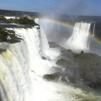 Photo taken at Iguazú National Park by Marcia C. on 7/14/2012