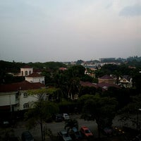 Photo taken at Sri Mahligai Condominium Block 17 by Norsaadah A. on 6/25/2012