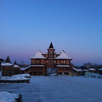 Photo taken at Свято-Знаменский Абалакский монастырь by Emilia on 2/21/2012
